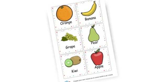 Fruit Flash cards - Food, Drink and Eating Literacy Primary Resources - Food & Drink