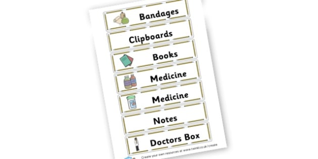 Hospital - Toy Hospital Roleplay Primary Resources, Roleplay, Toys, Masks