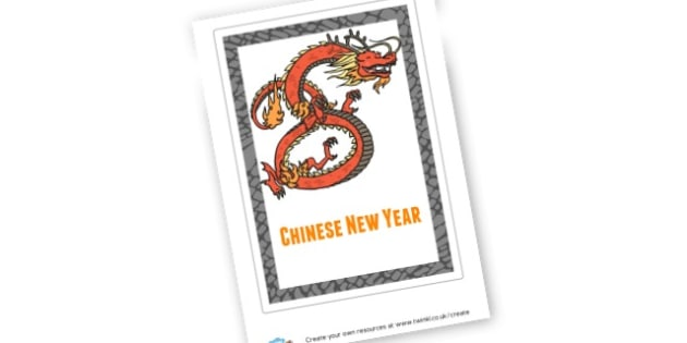 Chinese New Year Book Cover - Chinese New Year Story Primary Resources, Story, Race, Chinese