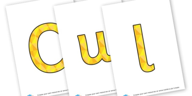Culture - display lettering - Display Lettering Primary Resources, cut out, letters, display