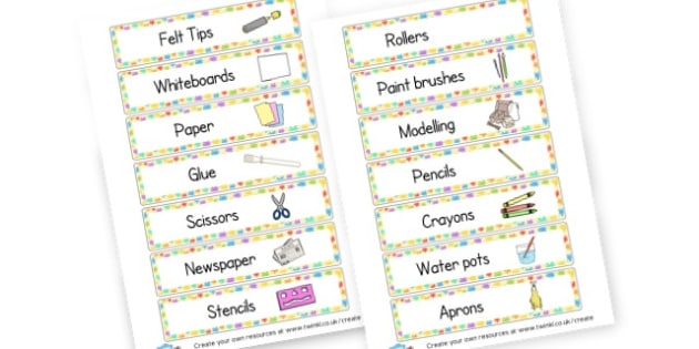 EYFS Painting Area - Creative Area Primary Resources, sign, area, zones, banner, poster
