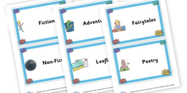 Reading Genres - Reading-Word Reading - New 2014 Curriculum, 2014 Curriculum