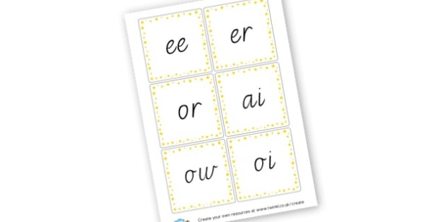 Phase 3 graphemes - display lettering - Phase 3 Visual Aids Primary Resources, Phase One, Letters, sounds