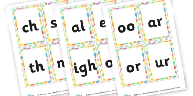 Phase 3 Phonemes - display lettering - Phase 3 Visual Aids Primary Resources, Phase One, Letters, sounds