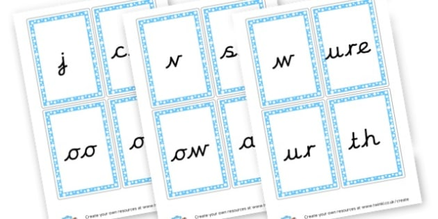 Phase 3 Digraphs  - Phase 3 Visual Aids Primary Resources, Phase One, Letters, sounds