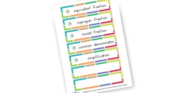 Fraction Cards - Fractions Primary Resources, numeracy, fraction, half, quarter