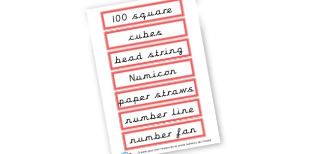 Maths resources - Maths Area Primary Resources, maths is fun, signs, labels, areas