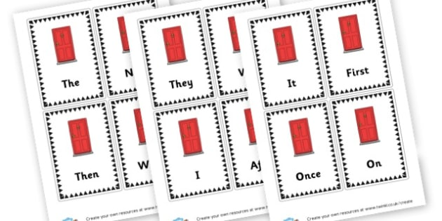Sentence Opener Flashcards Portrait - Display Sentence Starters Primary Resources, Display, Letters