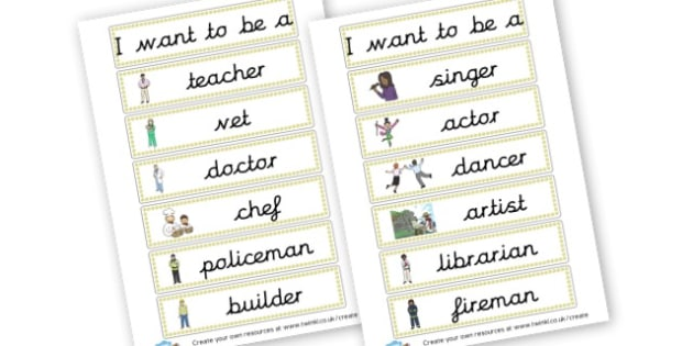 Jobs Flash Cards - People Who Help Us Literacy Primary Resources, literacy, help us