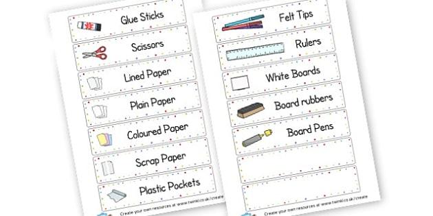 Drawer Labels 2 - Drawer & Peg Name Labels Primary Resources, Name Label, Label, Peg