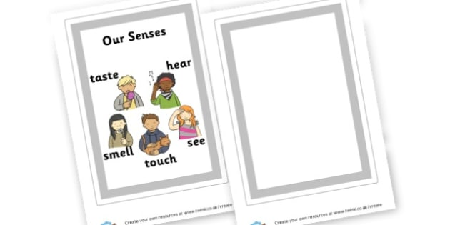 Our Senses Poster - My Senses Display Primary Resources, five senses, smell, sight