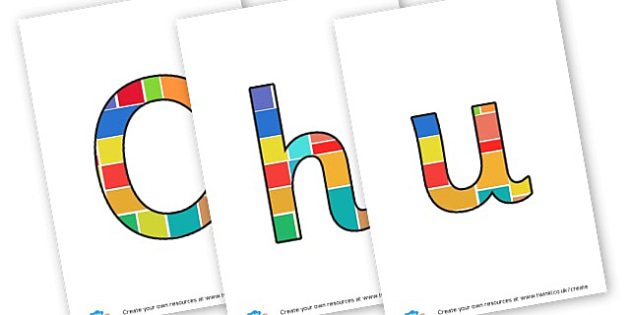 Church - Display Lettering - Christianity, Display,  Primary Resources, religion, faith, chris
