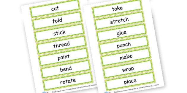 Imperative verbs - KS2 Verbs and Adverbs Primary Resources, Verbs, Adverbs, KS2 Words