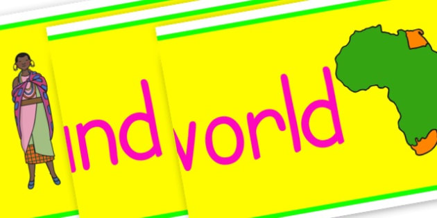 Around the World Display Banner - KS2 Around the World, Geography, Around the World, KS2 Geography