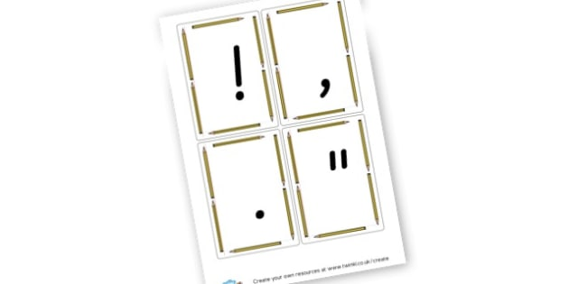 punctuation - Punctuation Primary Resources, Punctuation, SPaG, SPaG Resources