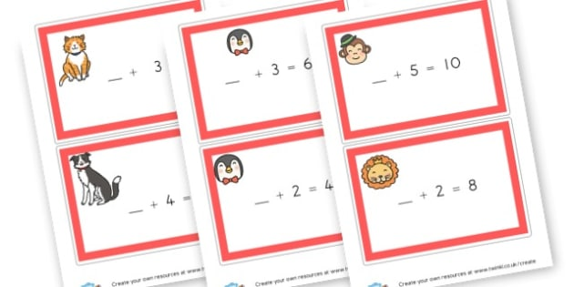 new addition cards - display lettering - Addition Worksheets Primary Resources - Add, Plus, More, Adding