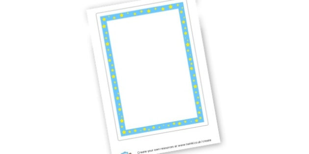 Writing Frame - General Writing Templates Primary Resources, page borders, frames