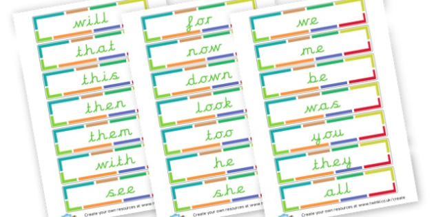 Phase 3 words Cards - Phase 3 Visual Aids Primary Resources, Phase One, Letters, sounds