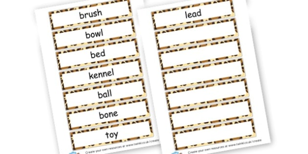 pet words - Pets Literacy Primary Resources, pet, animal, living things, cat