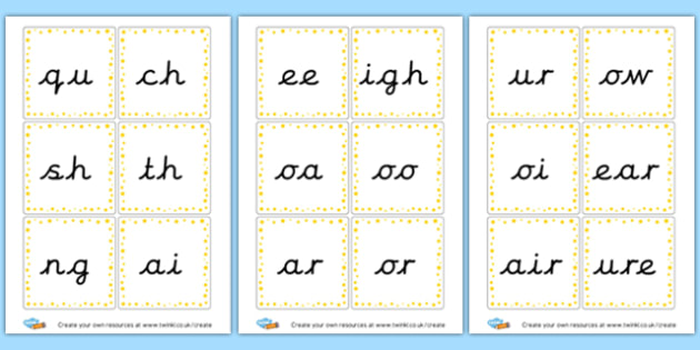 Phonics Flashcards - EAL Phonics Primary Resources - EAL, phonics, sounds