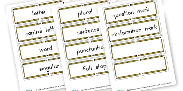 Grammar Vocabulary Cards - Grammar Visual Aids Primary Resources, grammar, aids, activities