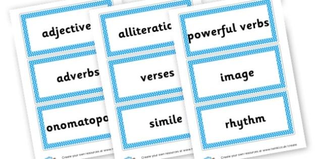 Poetry - Poetry Primary Resources, poetry, poems, rhyme, creative, rhymes