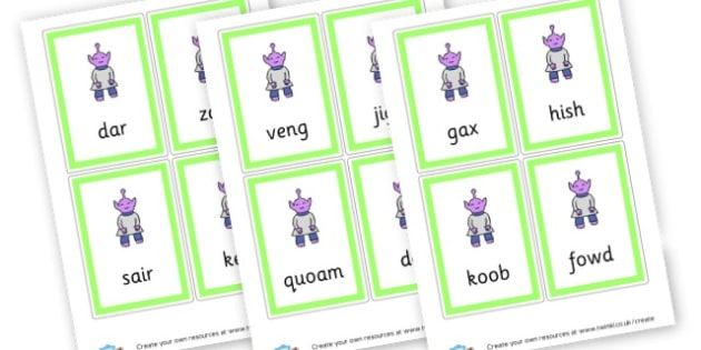 Letters And Sounds Phase 3 Nonsense Words - Phase 3 Visual Aids Primary Resources, Phase One, Letters, sounds