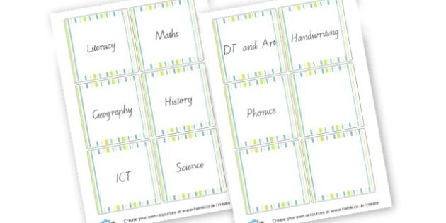 folder covers book labels primary resources pupil folder