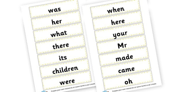 Phase 5 High Frequency Words Cards - Phase 5 Visual aids Primary Resources, Phase One, Letters, sounds