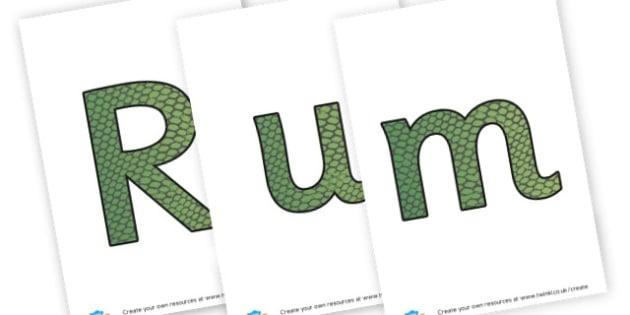 jungle banner - display lettering - Jungle & Rainforest Display Primary Resources, Display, Rainforest