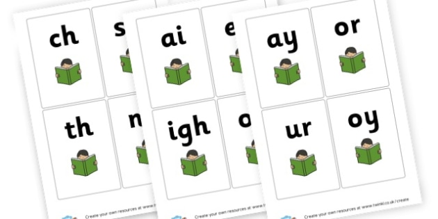 Phoneme Cards - Display Phonemes Primary Resources, Display, Letters, Words