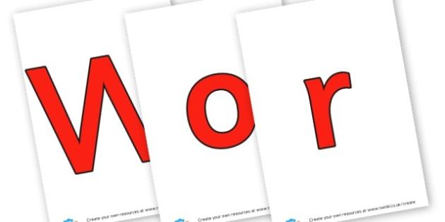 Workshop Area - Display Lettering - Workshop Area Primary Resources, sign, area, zones, banner, poster