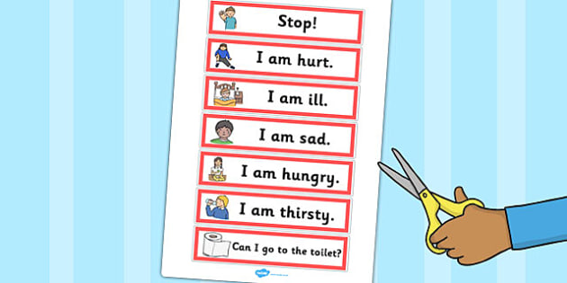 EAL Survival vocabulary - EAL & ESL Primary Resources, English as an additional language