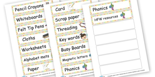 Literacy Resources Labels - Literacy Area Classroom Signs and Labels, Literacy Signs, Literacy