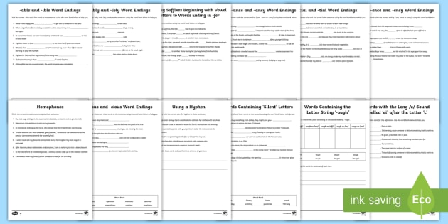 new uks2 spelling rules activity sheets spelling. Black Bedroom Furniture Sets. Home Design Ideas