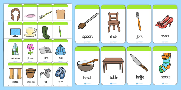 Matching Cards Flash Cards - match, sort, snap, card games, order