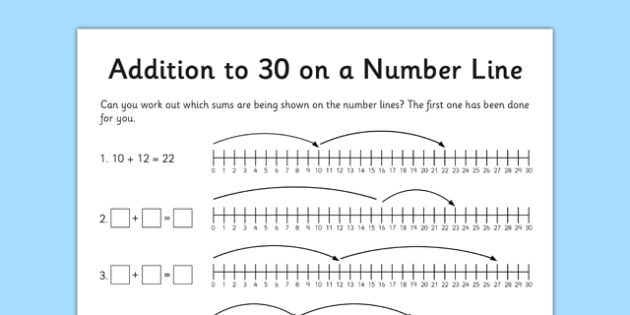 Addition to 30 Activity Sheet - addition, to 30, activity sheet, activity, add, numeracy, maths, worksheet