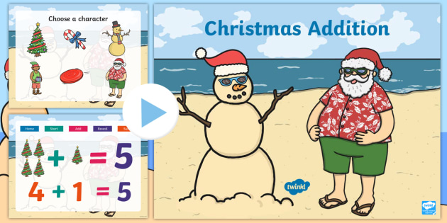 Christmas Addition PowerPoint - australia, christmas, addition