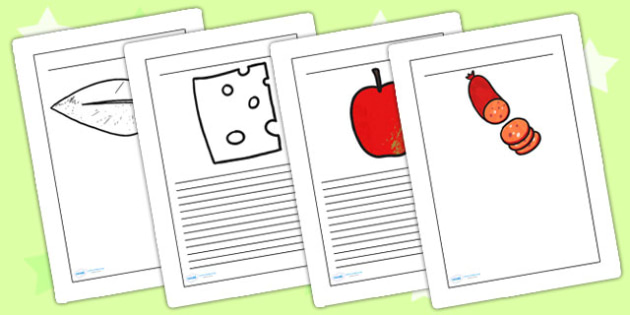 Story Writing Frames to Support Teaching on The Very Hungry Caterpillar - writing