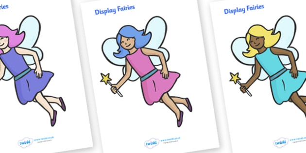 Fairy Display Posters - Fairies, Fairy, topic, fantasy, A4, display, posters