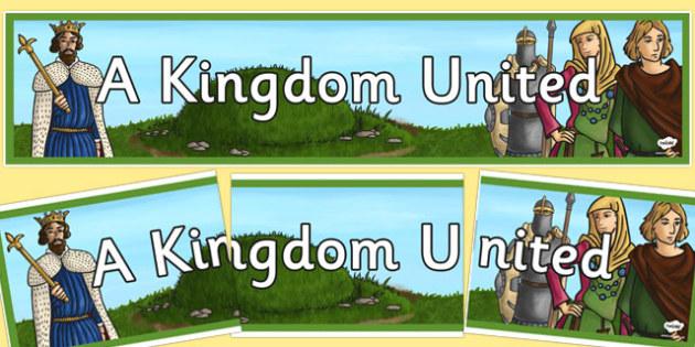 A Kingdom United Display Banner - kingdom, united, display banner