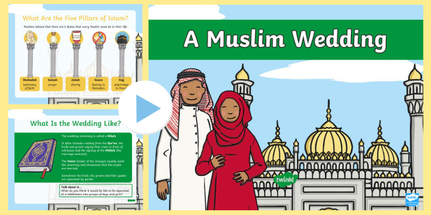 KS1 Muslim Wedding Information PowerPoint - Marriage