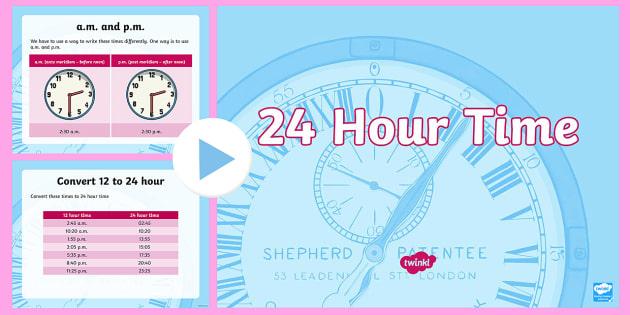 Lks2 24 hour time powerpoint read write and convert time lks2 24 hour time powerpoint read write and convert time between analogue and digital toneelgroepblik Gallery