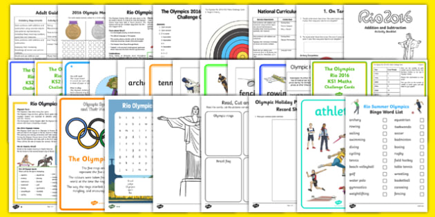 Home Education 2016 Olympics Resource Pack