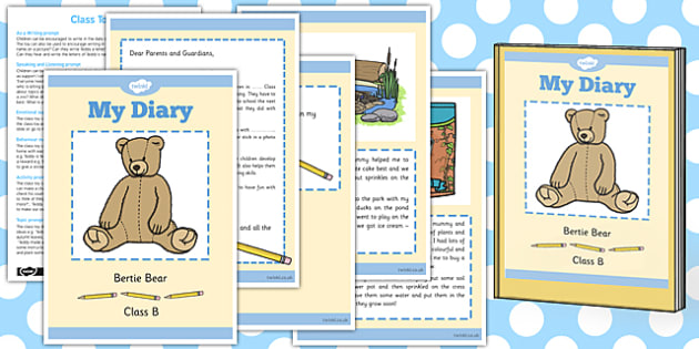 Editable Class Toy Resource Pack - editable, class toy, diary
