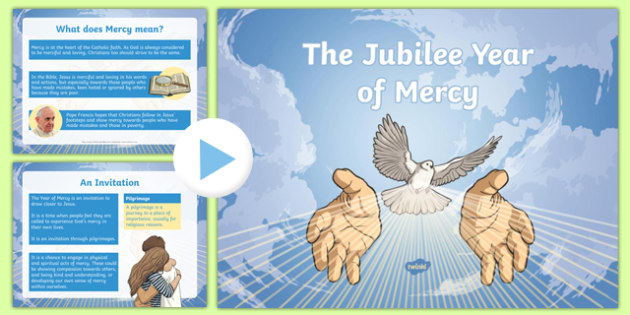 The Jubilee Year of Mercy PowerPoint