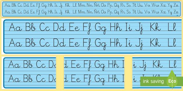 Recta alfabética
