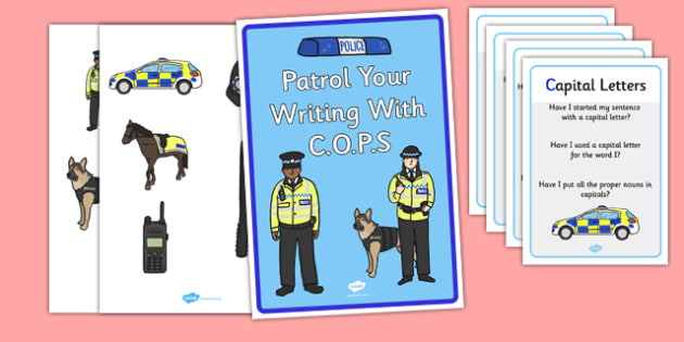 Cops Editing Strategy Display Pack - cops, editing, strategy, police, display pack