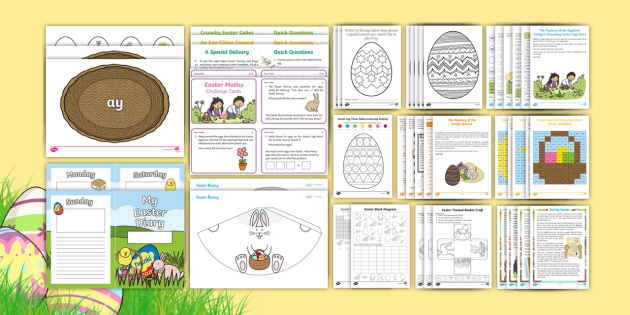 KS1 Easter Home Learning Activity Pack