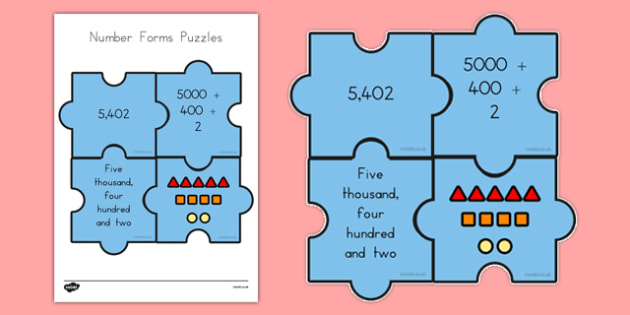 USA Number Form Puzzles - usa, number form, puzzles, activity, puzzle, number, form